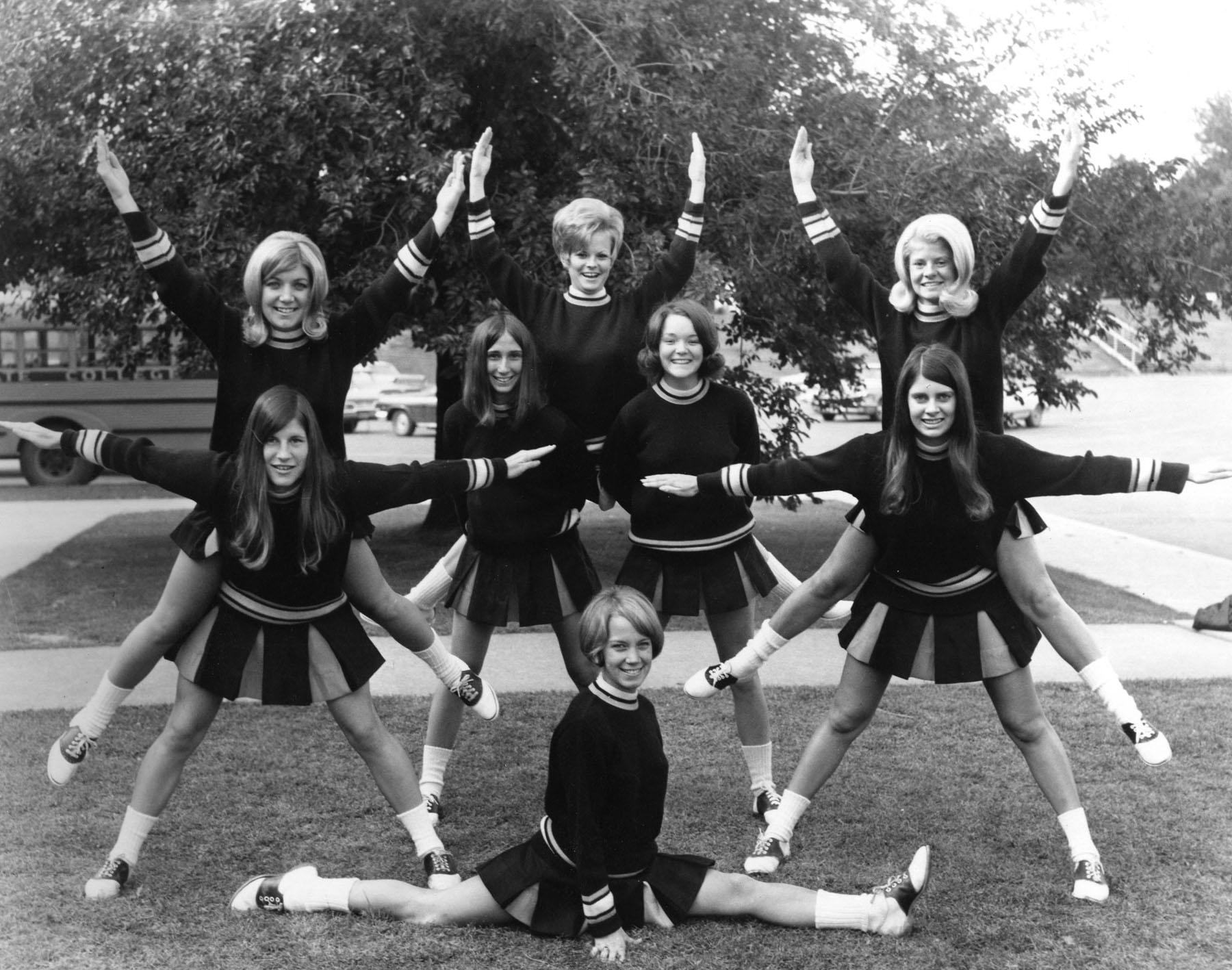 Clas of 1969 Cheerleaders
