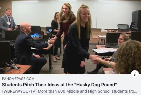 Husky Dog Pound WBRE-TV