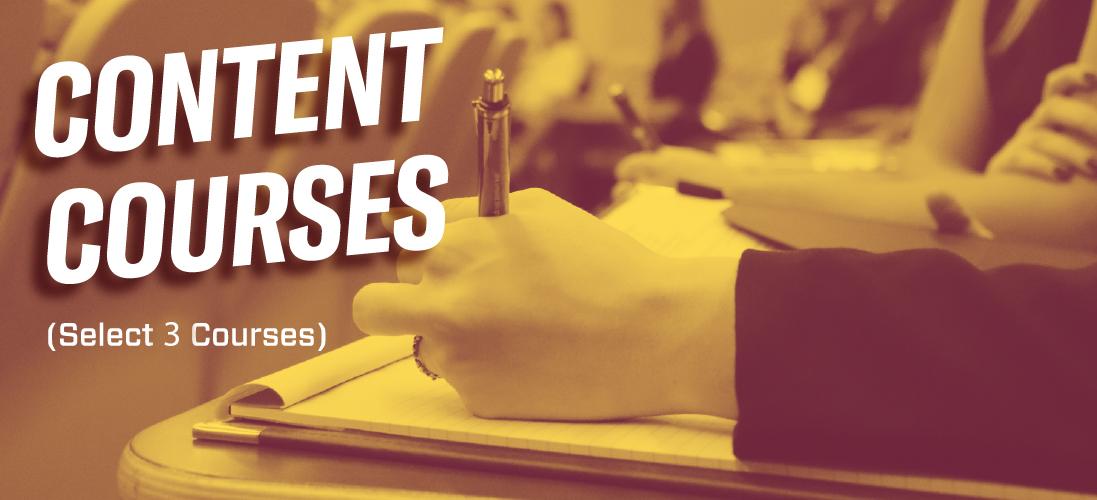 Content Psychology Courses