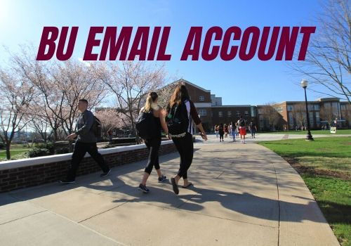 check your bu email account