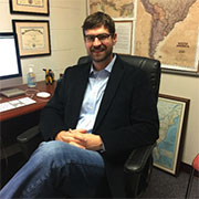 Eric C. Miller, assistant professor of communication studies