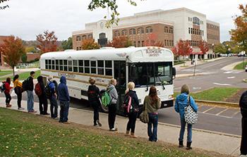 Campus Bus Shuttle Services: https://intranet.bloomu.edu