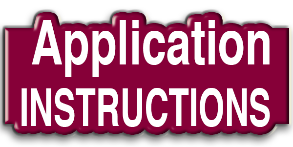 Admissions Application Instructions
