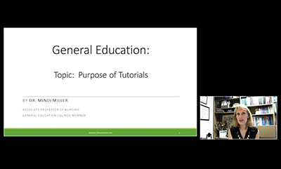 General Education Tutorials