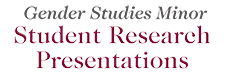 Gender Studies Undergraduate Research