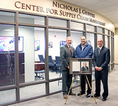 Nicholas Giuffre Center Dedication