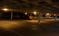 Tri-Level Parking Garage Lighting Project