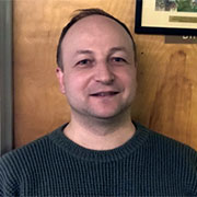 Mykola Polyuha, assistant professor of languages and cultures