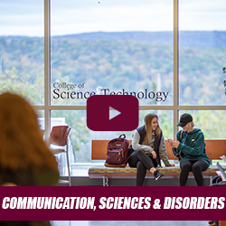 Academic Session - Communication, Sciences and Disorders with Drs. Scarpino and Shaikh