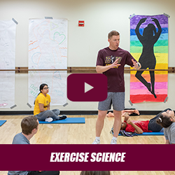 Academic Session - Exercise Science Freshman Orientation with Dr. Andrea Fradkin